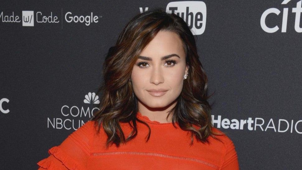 Demi Lovato Claps Back at Fan Criticizing Her Team