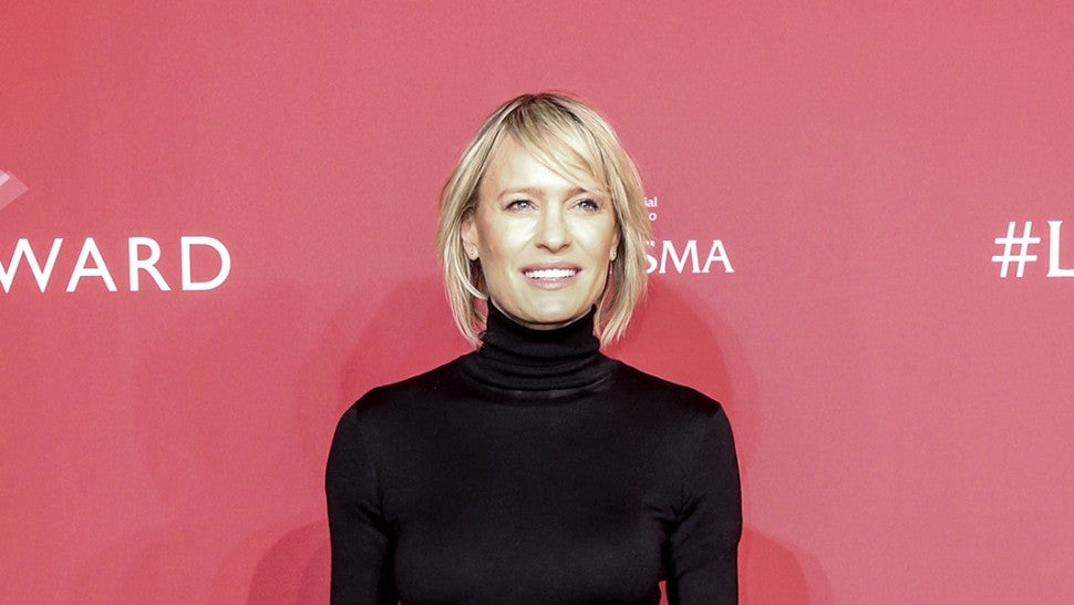 Robin Wright thinks Kevin Spacey deserves a second chance