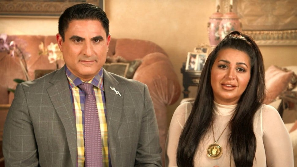 Reza Farahan and Mercedes 'MJ' Javid of Bravo's 'Shahs of Sunset.'
