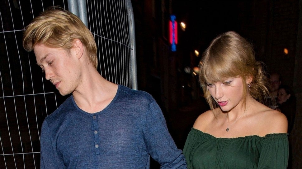 Joe Alwyn and Taylor Swift on date in London