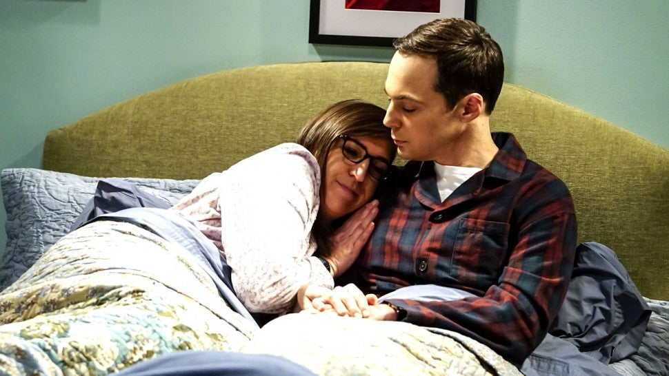 Mayim Bialik Jim Parsons Big Bang Theory