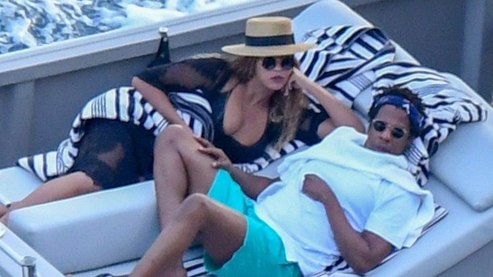 Beyonce and Jay-Z Amalfi Coast