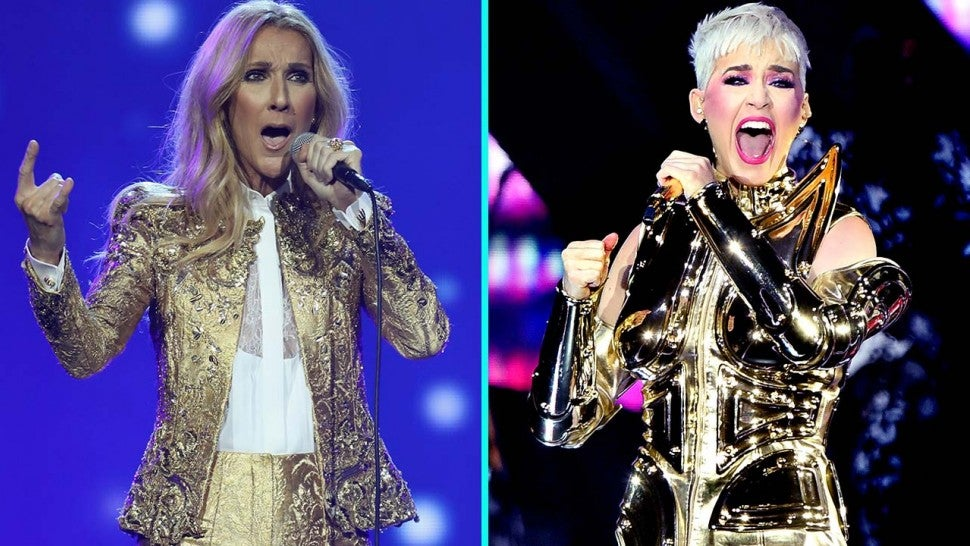 Celine Dion And Katy Perry