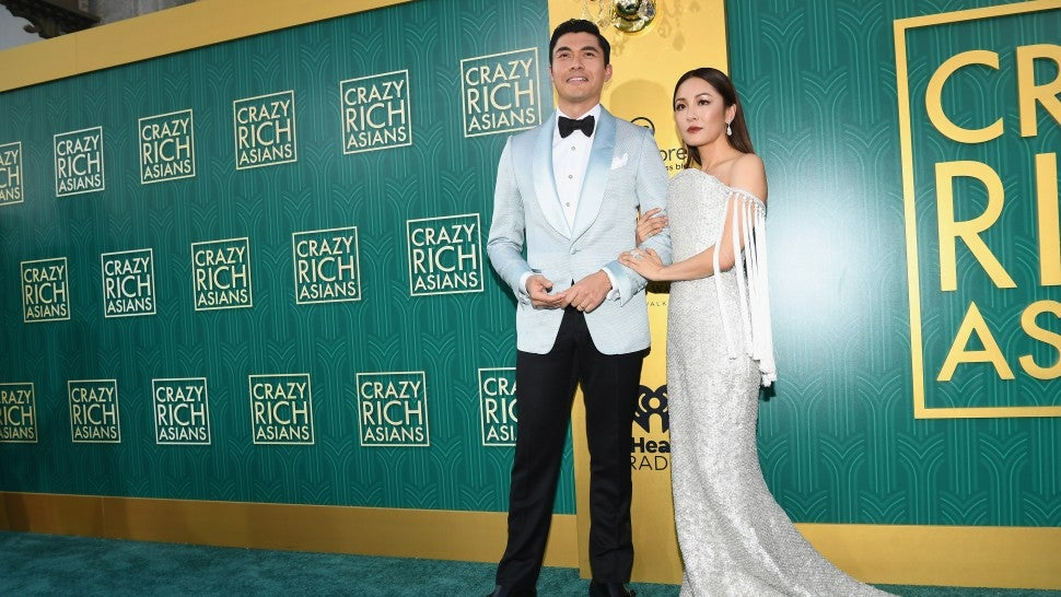 Constance Wu Henry Golding Crazy Rich Asians Premiere