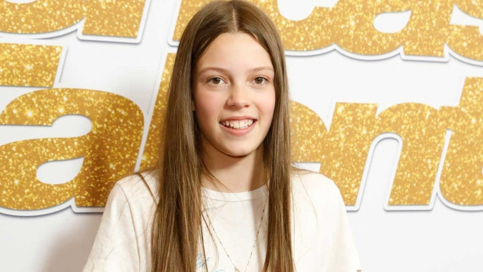 14-year-old 'America's Got Talent' singer Courtney Hadwin