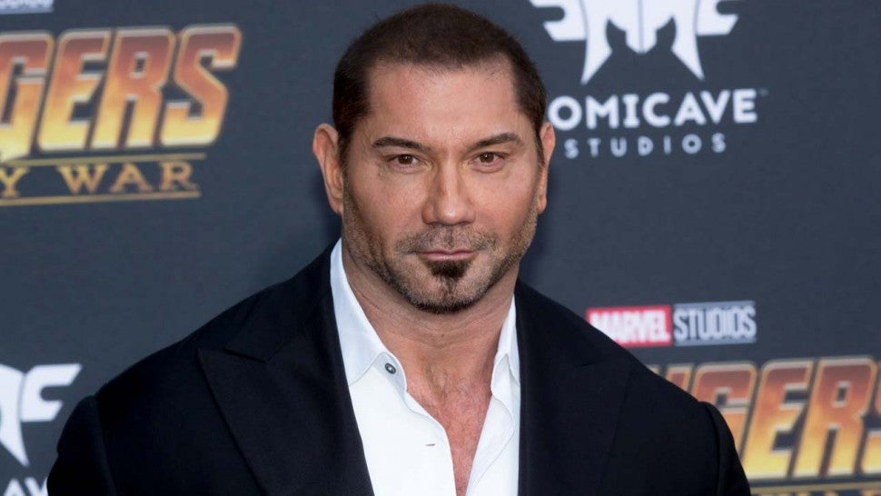 'Guardians of the Galaxy' Star Dave Bautista
