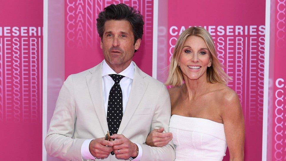 Patrick Dempsey And Wife Jillian Return To The Spot They Got Married