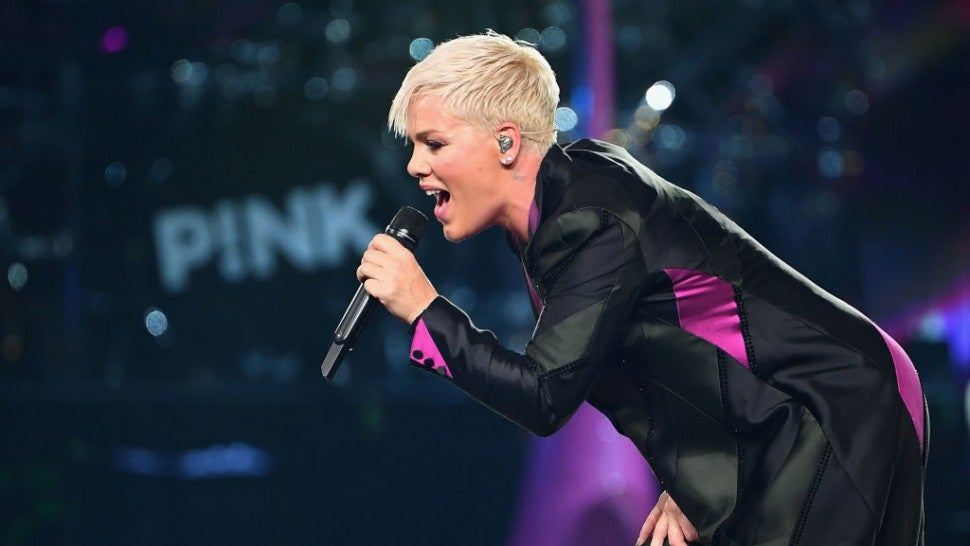 Pink answers grieving girl's wish for a hug at Brisbane concert