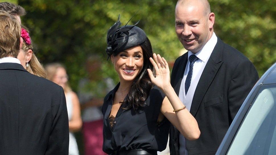Meghan Markle's Royal Wardrobe Malfunction at Friend's Wedding