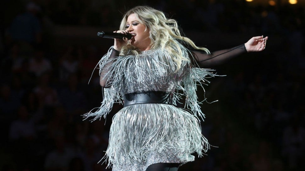 Kelly Clarkson, U.S. Open