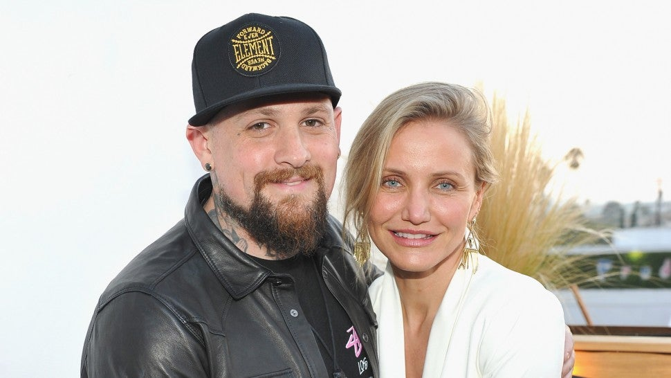 Cameron Diaz and Benji Madden Make Rare Public Appearance in Beverly Hills