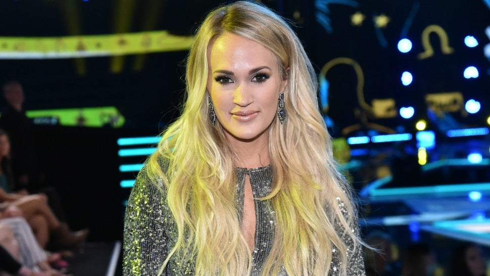 Carrie Underwood Shows Off Baby Bump At Grand Ole Opry