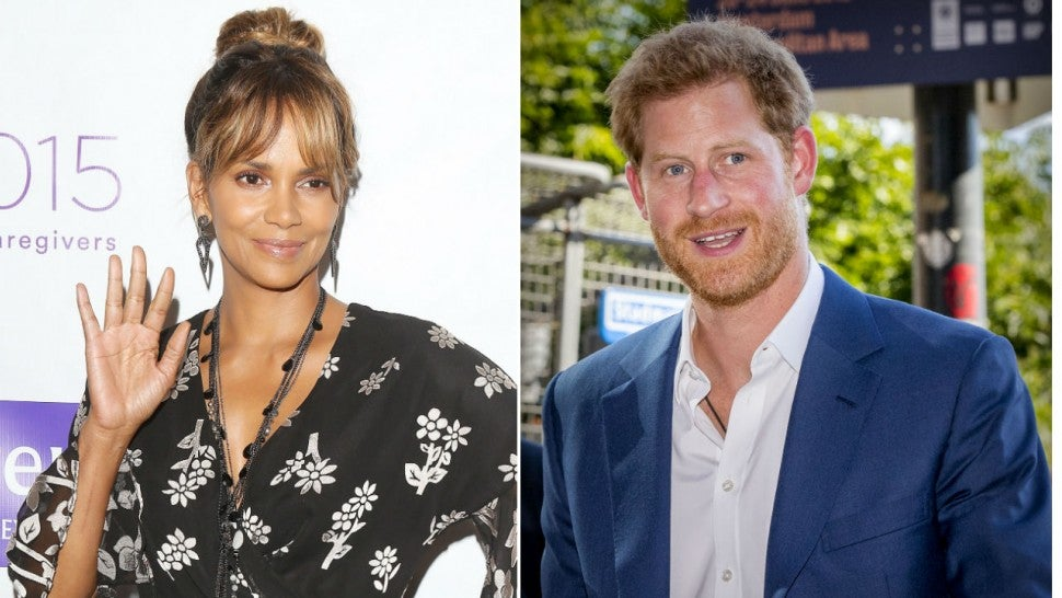 Halle Berry just reacted to Prince Harry's bedroom poster of her