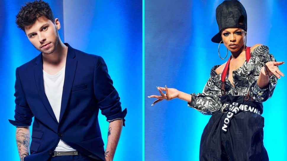 James Graham and Sharaya J on 'The Four: Battle for Stardom' Season 2