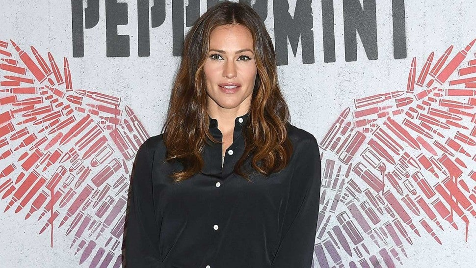Jennifer Garner at a 'Peppermint' photocall in Beverly Hills on Aug. 17.