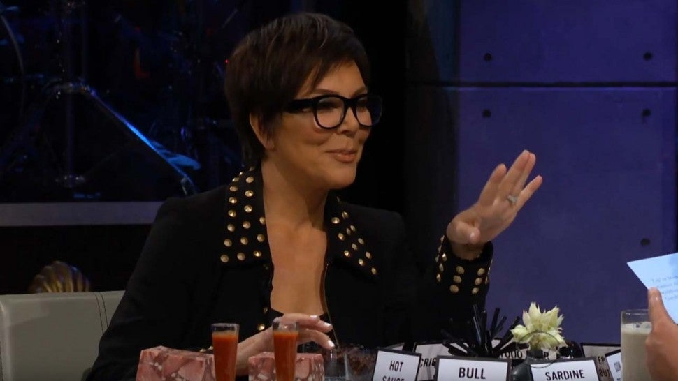 Kris Jenner sits down with James Corden on 'The Late Late Show&#039 on Aug. 7
