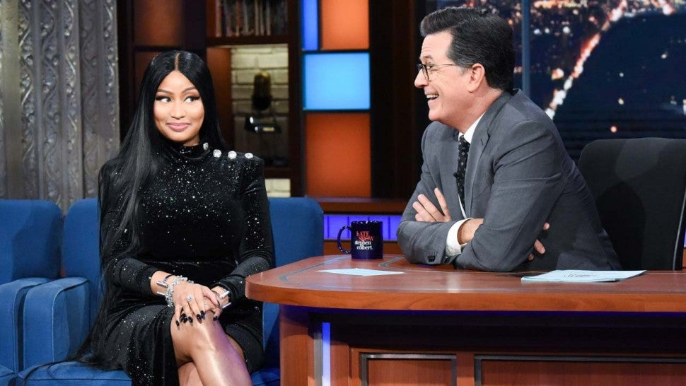 Watch Nicki Minaj freestyle a new