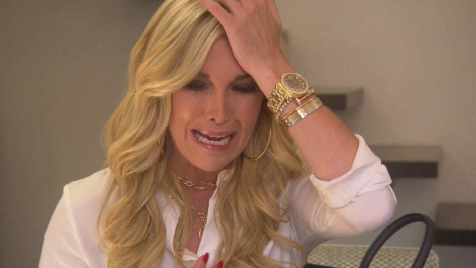 Tinsley Mortimer breaks down in tears on 'The Real Housewives of New York City.'