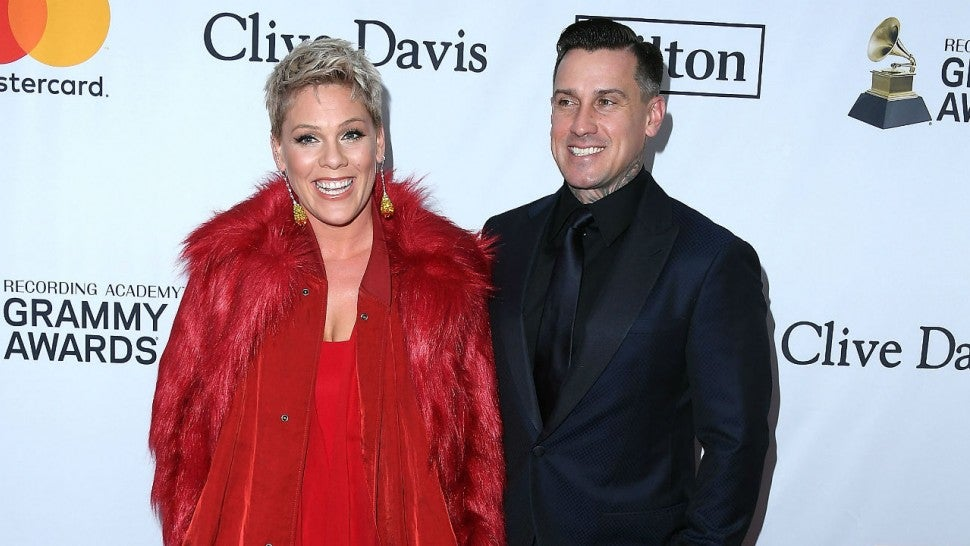 Carey Hart Responds to Critics After Exposing Sick Son to Others