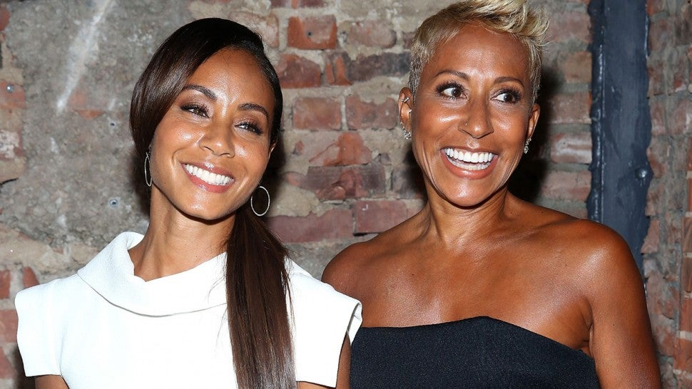 Image result for jada pinkett mother