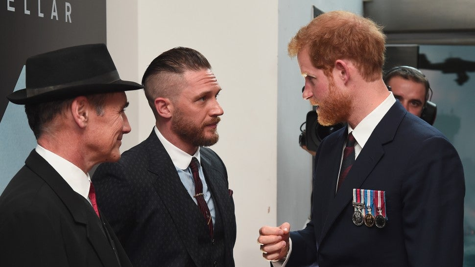 Prince Harry Tom Hardy