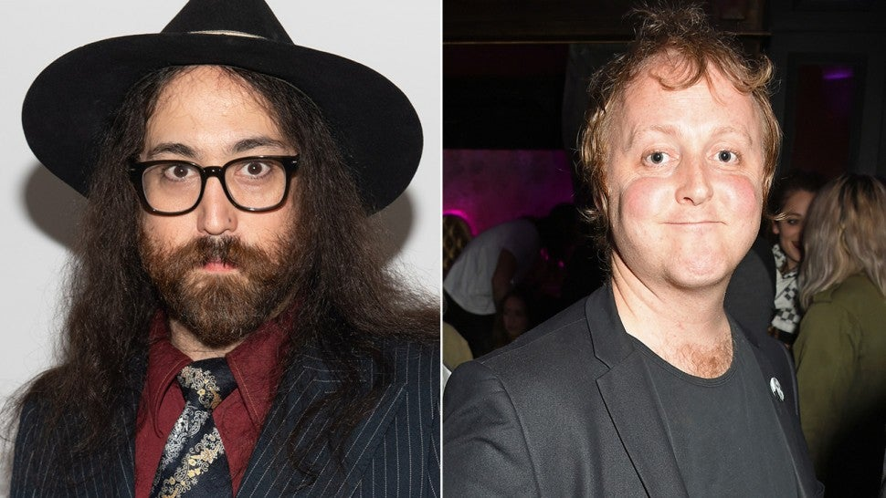 Sean Ono Lennon And James McCartney