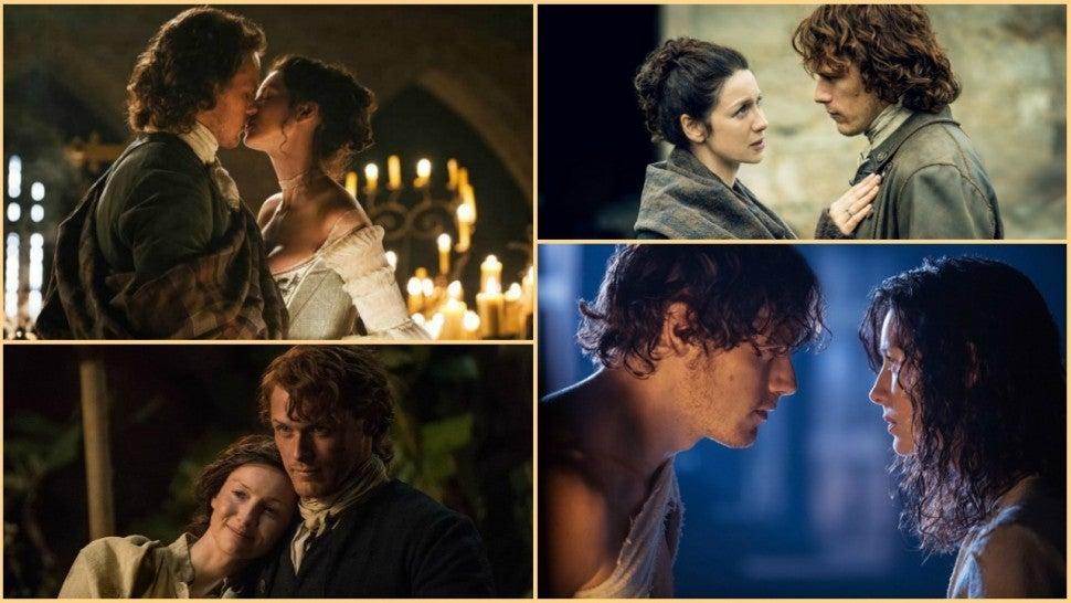 Outlander': Sam Heughan and Caitriona Balfe Dish on Jamie