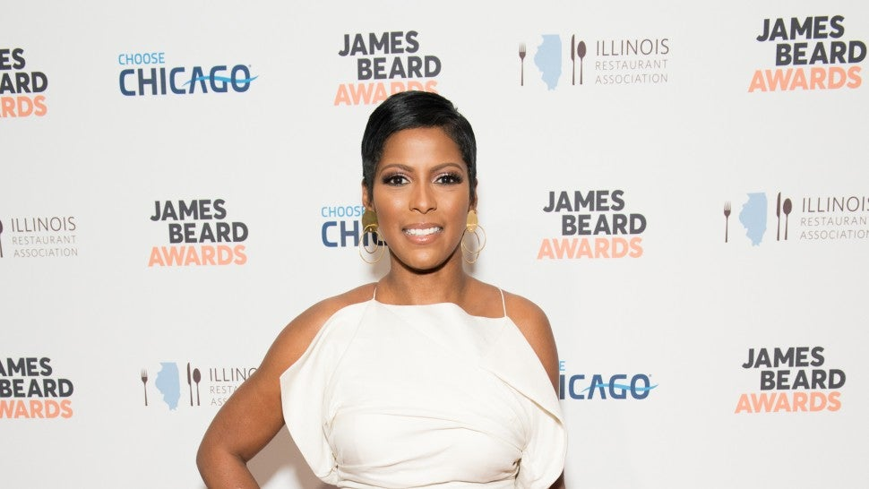 Tamron Hall attends the 2018 James Beard Media Awards at Pier Sixty at Chelsea Piers on April 27, 2018 in New York City.
