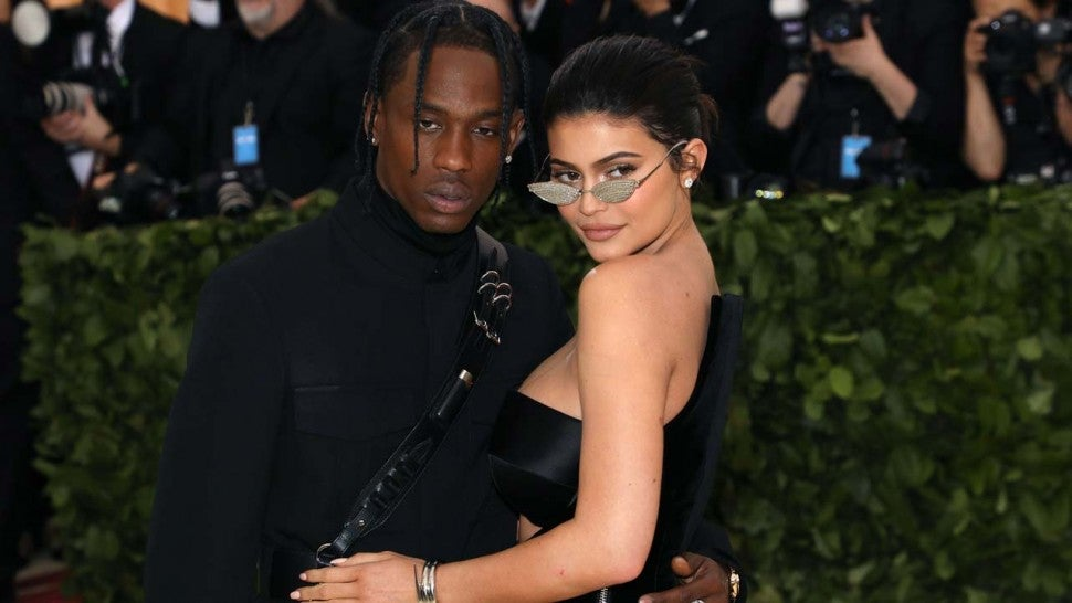 Kylie Jenner and Travis Scott at the 2018 Met Gala in New York City