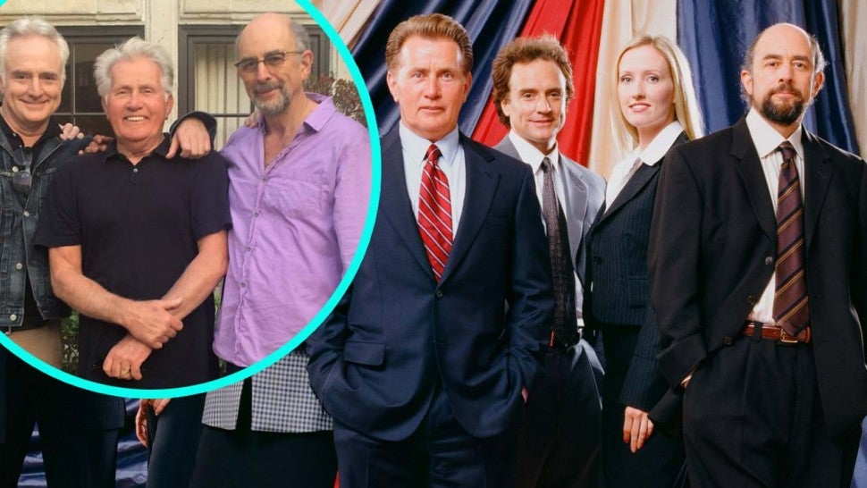 The Cast of 'The West Wing' Then and Now