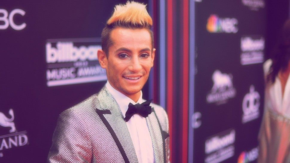 TV personality Frankie J. Grande attends the 2018 Billboard Music Awards at MGM Grand Garden Arena on May 20, 2018 in Las Vegas, Nevada.