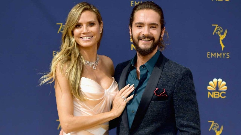Heidi Klum and Boyfriend Tom Kaulitz at the 2018 Emmys