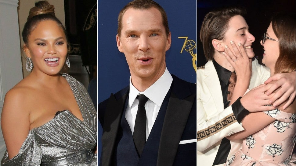 Chrissy Teigen, Benedict Cumberbatch, Stranger Things