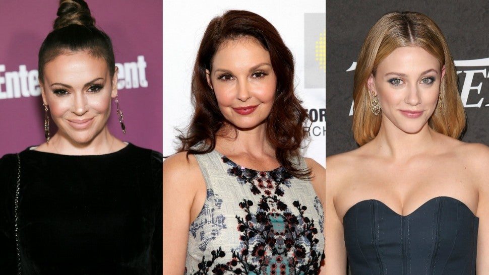 Alyssa Milano Ashley Judd Lili Reinhart