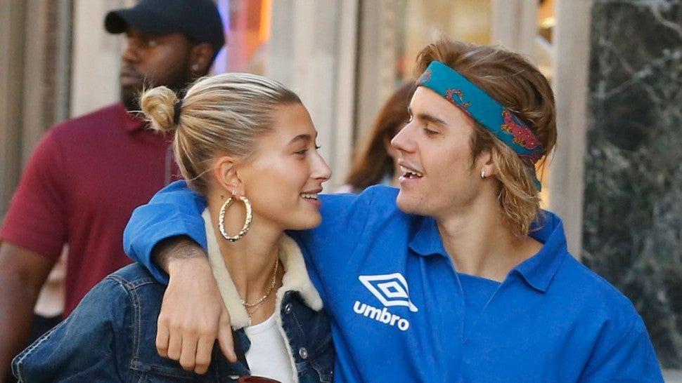 Justin Bieber Sweetly Serenades Wife Hailey Baldwin Outside Their
