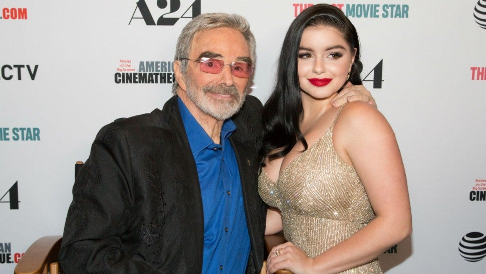 Burt Reynolds and Ariel Winter