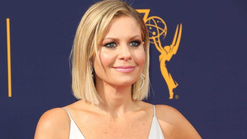 'Fuller House' star Candace Cameron Bure at the 2018 Creative Arts Emmy Awards