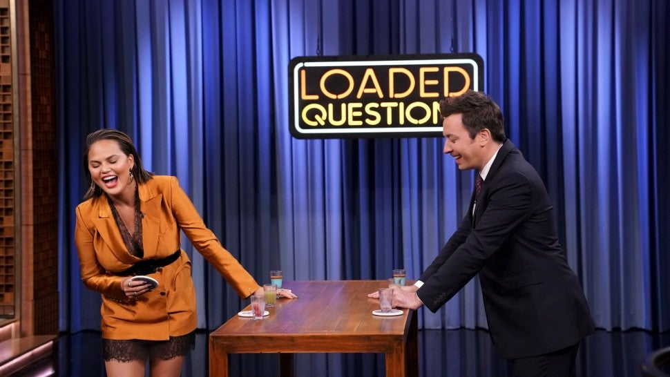 Chrissy Teigen Jimmy Fallon