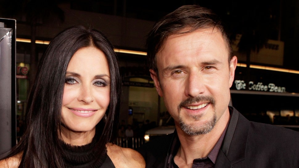 David Arquette Hilariously Takes Responsibility for Courteney Cox's 'Scream 3' Haircut