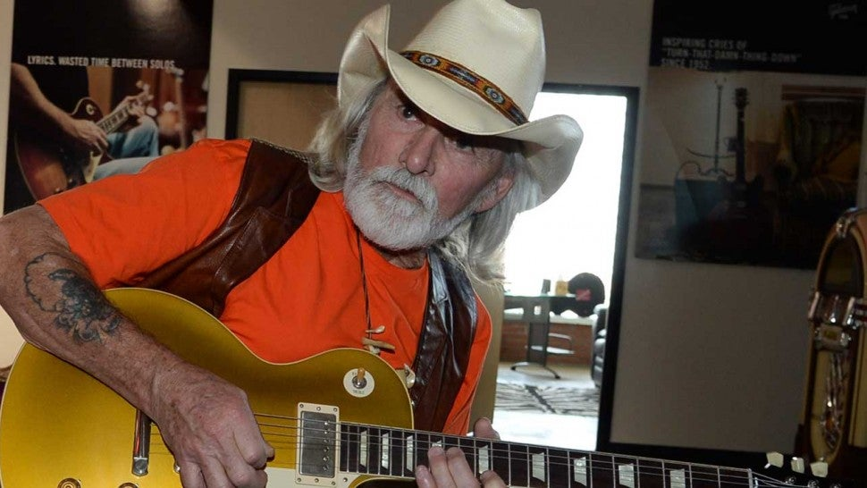 The Allman Brothers Band guitarist Dickey Betts