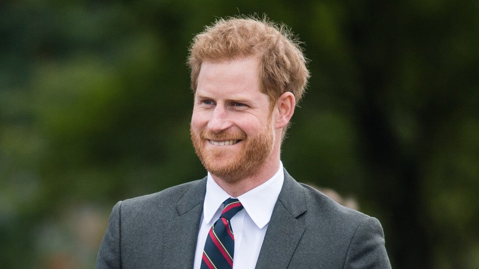 Prince Harry visits the Royal Marines Commando Training Centre