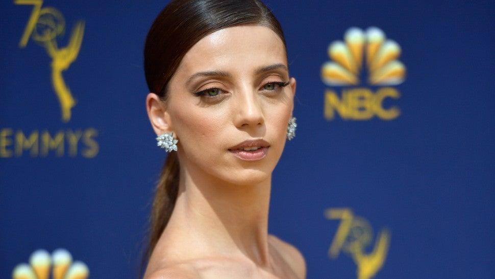 'Westworld' Star Angela Sarafyan Dazzles on 2018 Emmys Red Carpet