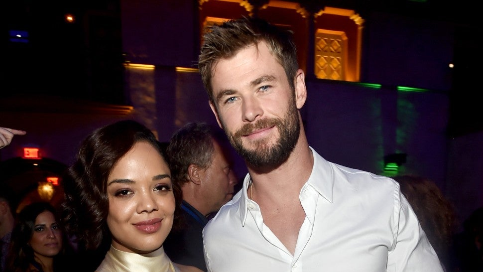 Men In Black 4: Chris Hemsworth and Tessa Thompson Images