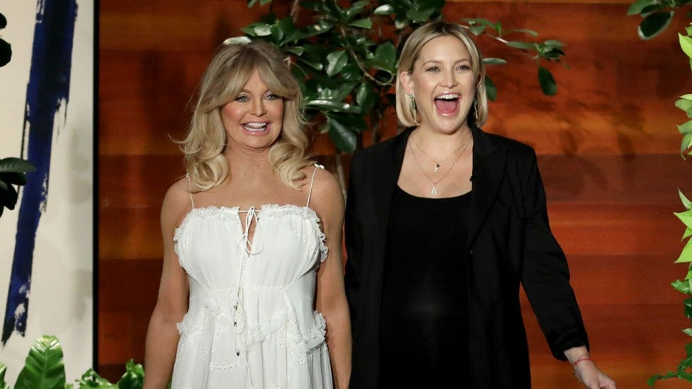 Kate Hudson and Goldie Hawn Make Hilarious Visit to