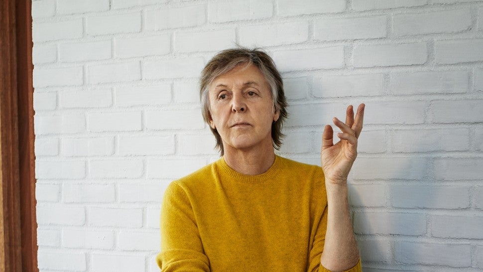 Paul McCartney in GQ