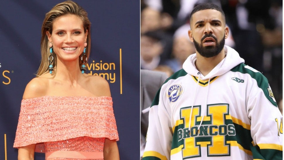 Heidi Klum: Drake asked me out and 'I never texted him back'