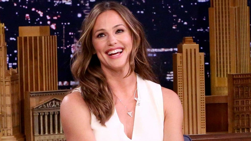 Jennifer Garner sits down with Jimmy Fallon on 'The Tonight Show' on Sept. 5, 2018