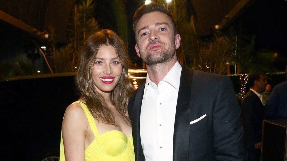 Jessica Biel and Justin Timberlake Emmys after-party 1280