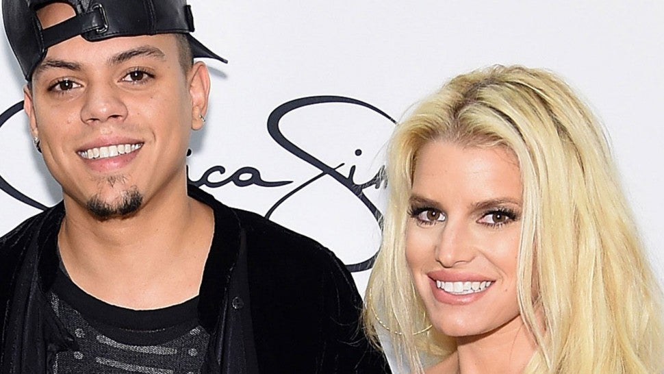 Evan Ross and Jessica Simpson
