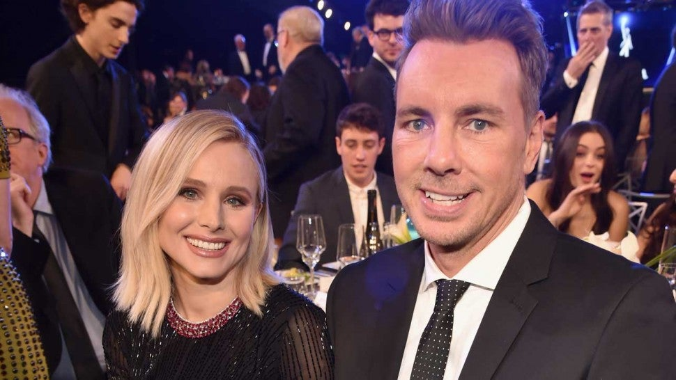 Kristen Bell and her husband Dax Shepard
